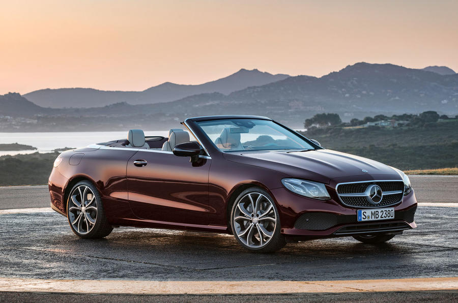 Mercedes-Benz E-Class Cabriolet unveiled ahead of Geneva debut