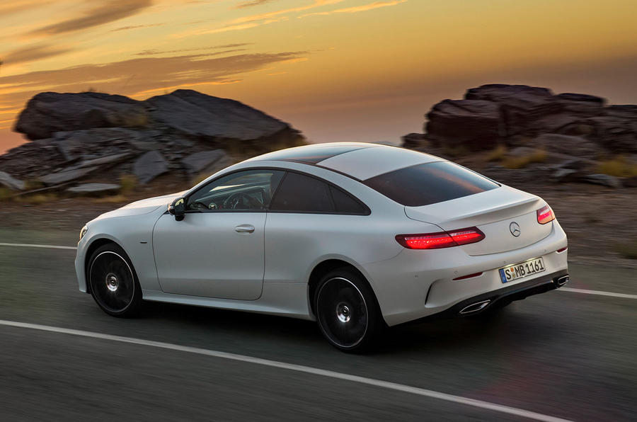 2017 mercedes benz e class coupe makes public debut in