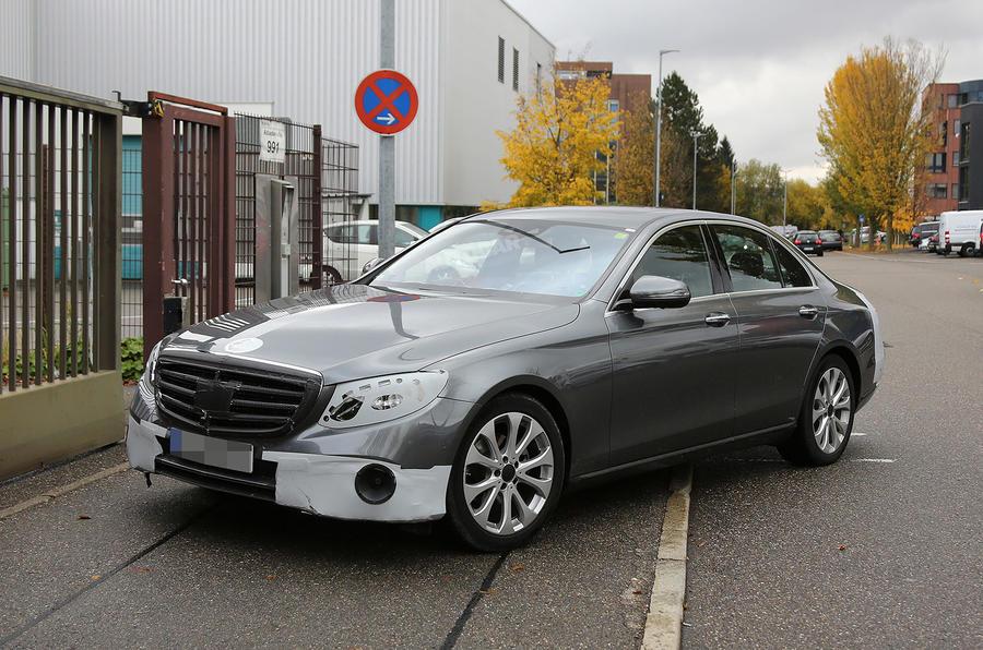 2016 Mercedes-Benz E-class - front