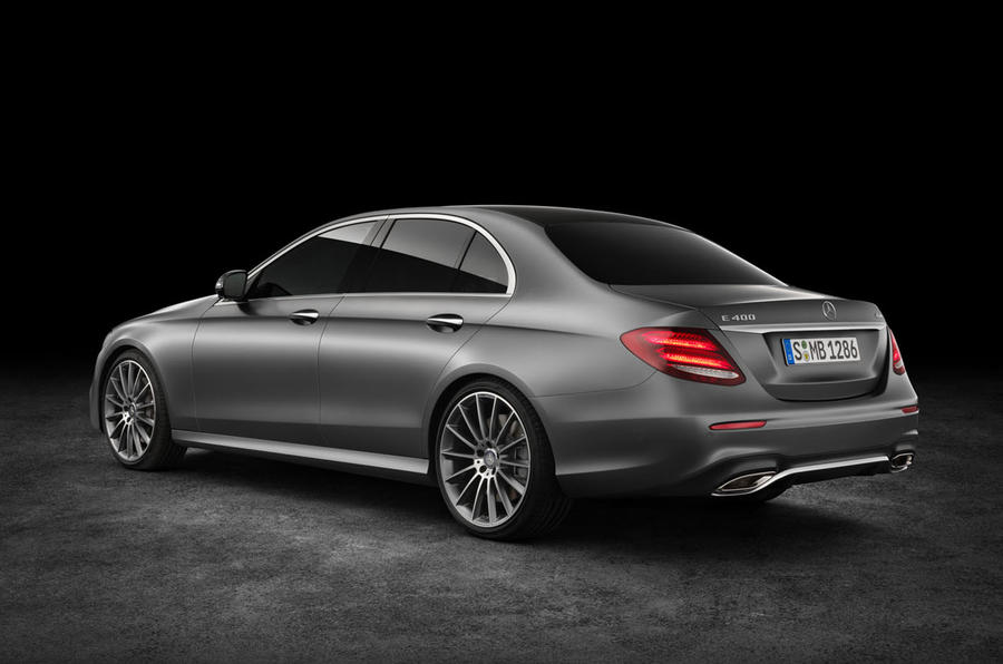 new mercedes benz e class   exclusive pictures and video