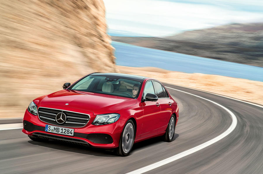 New 2016 Mercedes E-Class front grille