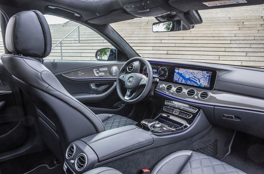 Mercedes-Benz E 220 d Estate interior