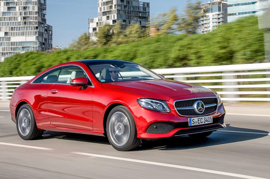 mercedes benz e class coupe e 220 d 4matic 2017 review autocar. Black Bedroom Furniture Sets. Home Design Ideas