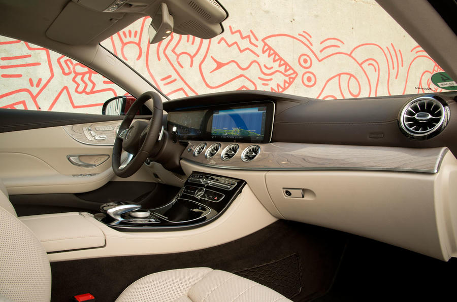 Mercedes-Benz E-Class Coupe E 220 d 4Matic interior