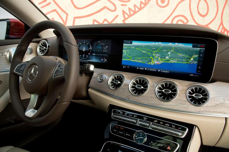 Mercedes-Benz E-Class Coupe E 220 d 4Matic interior dashboard