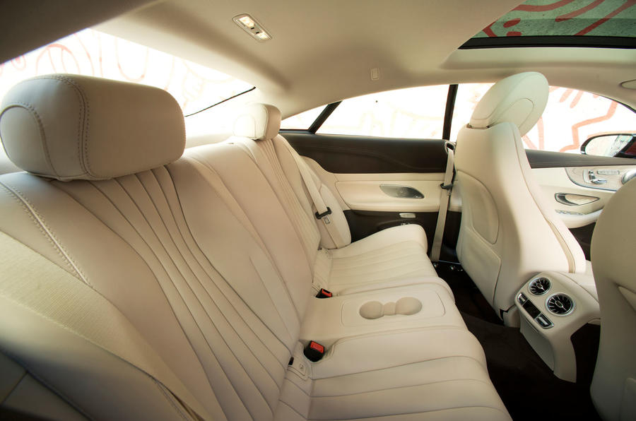 Mercedes-Benz E-Class Coupe E 220 d 4Matic rear seats