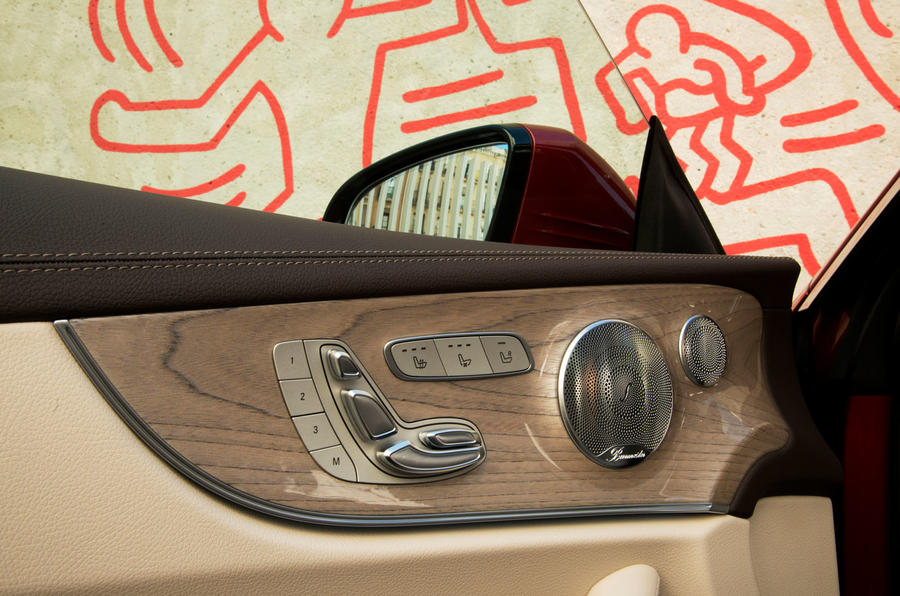 Mercedes-Benz E-Class Coupe E 220 d 4Matic left-front door card