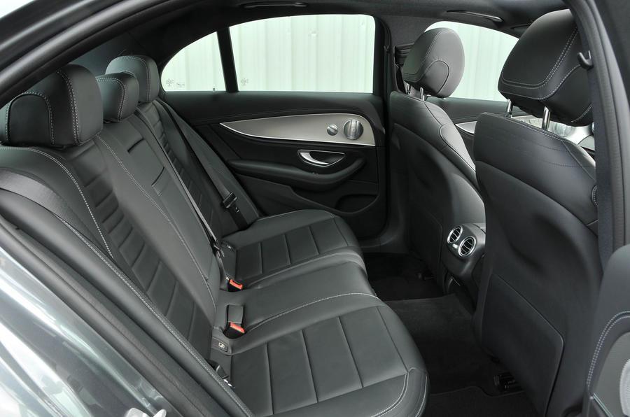 Mercedes-Benz E 350 d rear seats