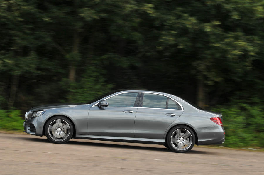Mercedes-Benz E 350 d side profile