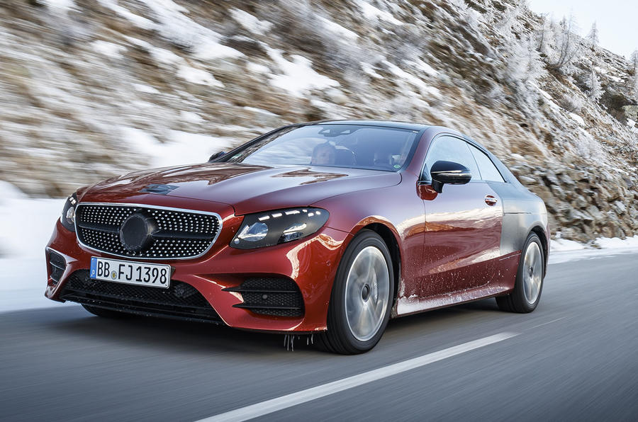 2017 mercedes benz e class coupe we take a ride autocar. Black Bedroom Furniture Sets. Home Design Ideas