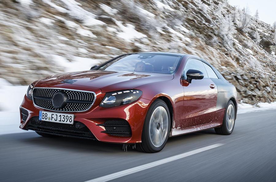 2017 Mercedes E-Class Coupe: we take a ride