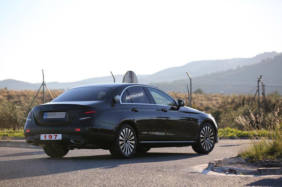 2016 Mercedes-Benz E-class - rear