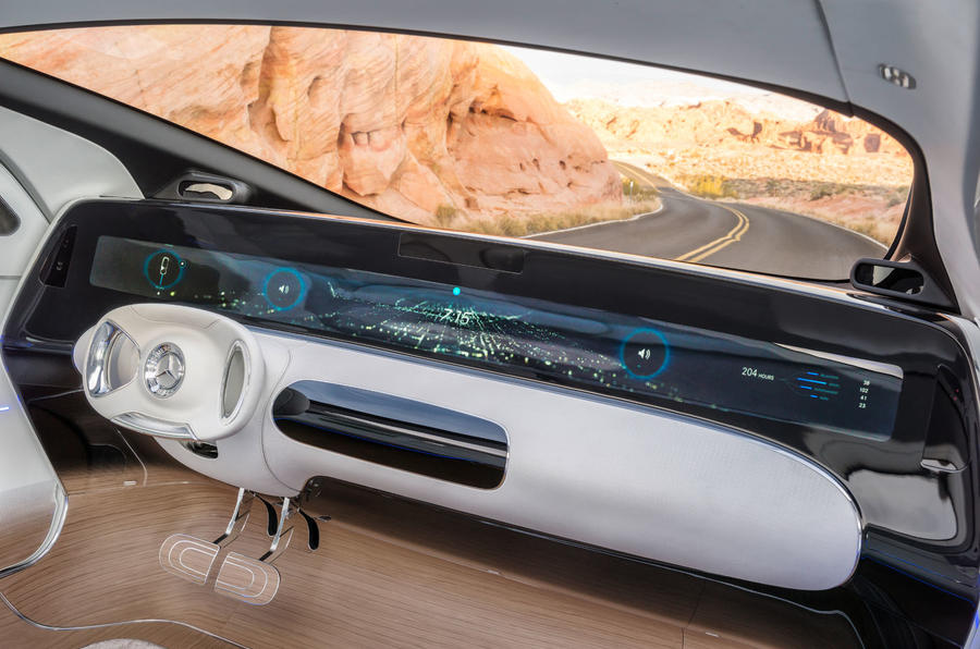 Mercedes-Benz F015 Luxury in Motion concept car