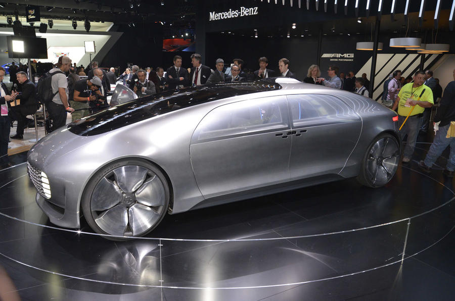 Mercedes benz to push future technology autocar for Mercedes benz latest technology