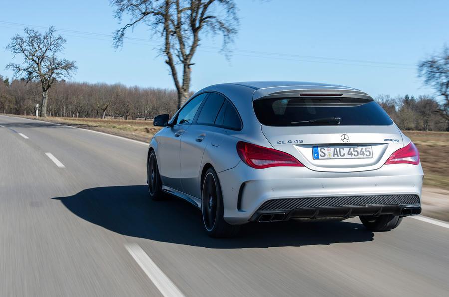 Mercedes-AMG CLA 45 Shooting Brake rear