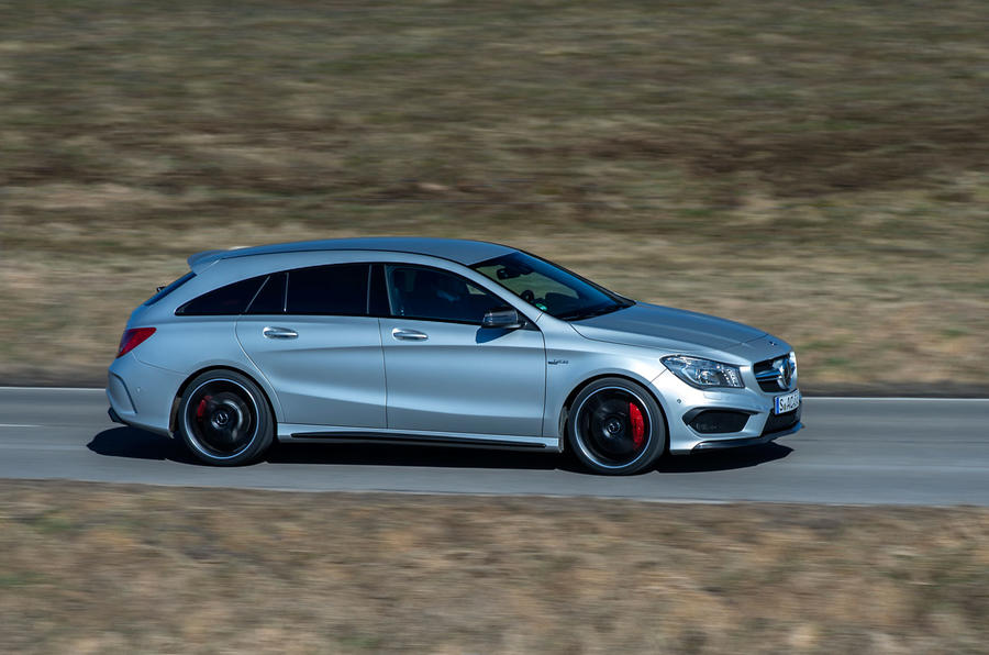 2015 mercedes amg cla 45 shooting brake review review. Black Bedroom Furniture Sets. Home Design Ideas