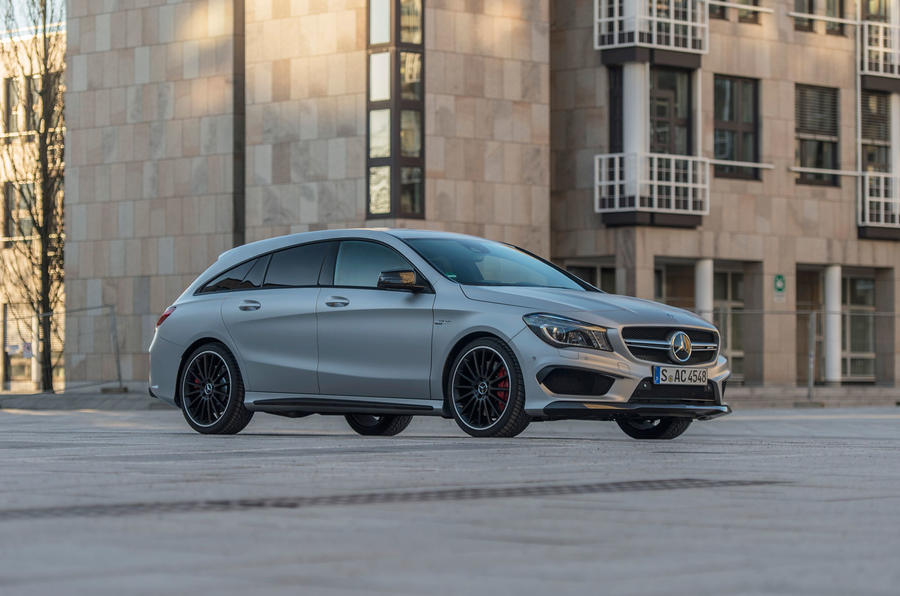 355bhp Mercedes-AMG CLA 45 Shooting Brake