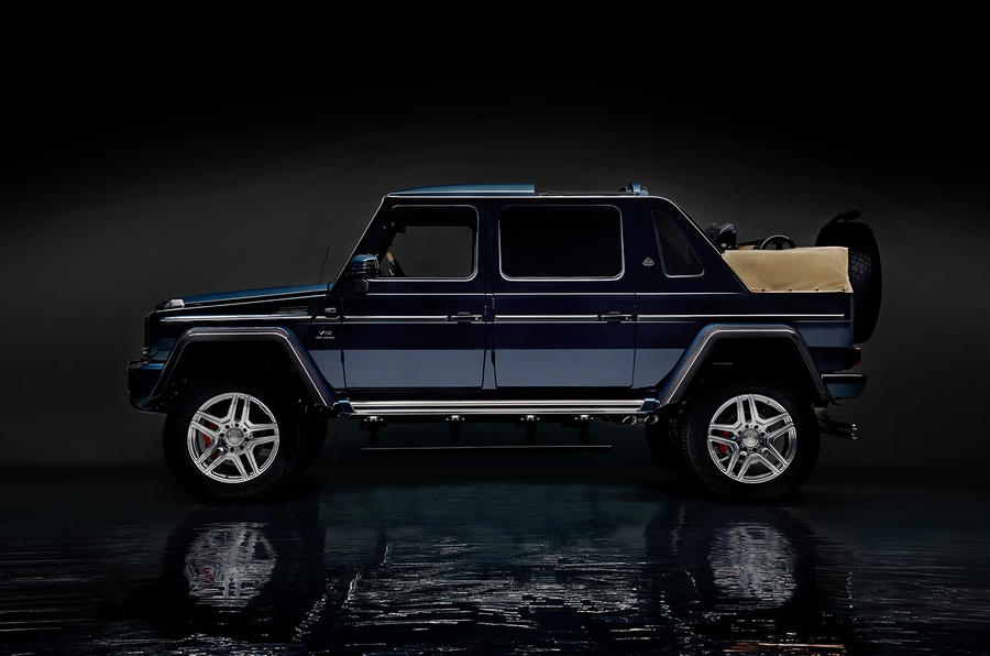 Mercedes-Maybach G650 Landaulet arrives as swansong to current G ...