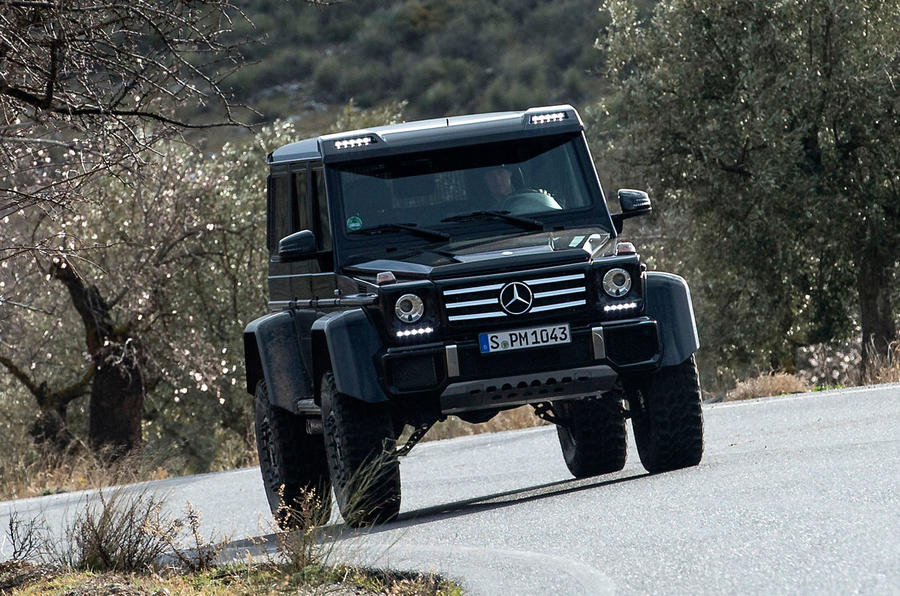 2015 mercedes benz g 500 4x4 squared review autocar. Black Bedroom Furniture Sets. Home Design Ideas