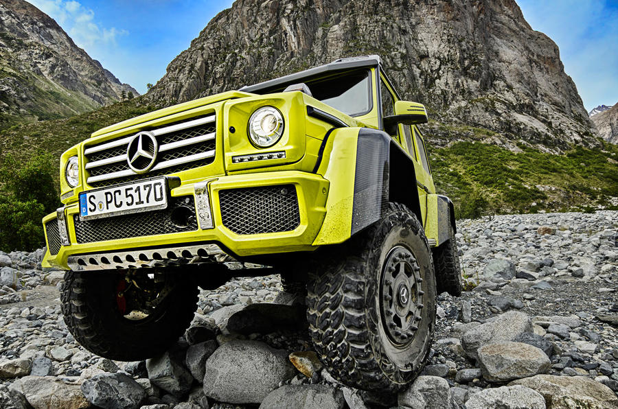 Extreme Mercedes-Benz G500 4x4² confirmed for production ...