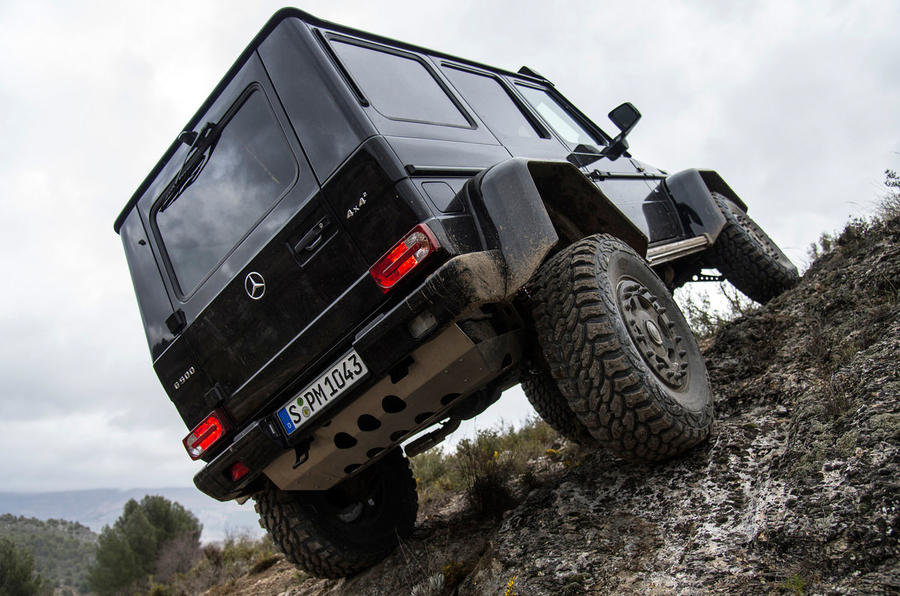 2015 mercedes benz g 500 4x4 squared review autocar for Mercedes benz 4x4 squared