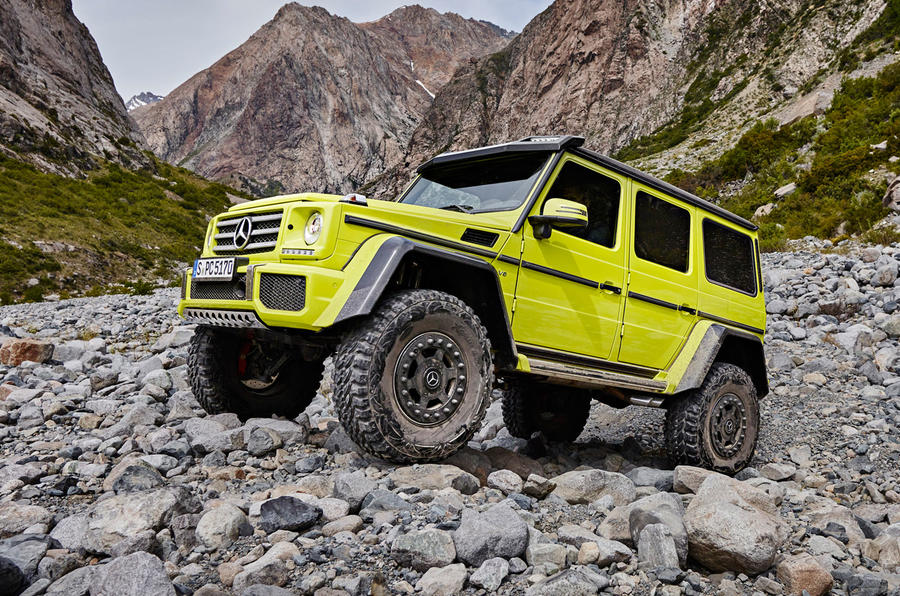 Mercedes G 4x42 >> Extreme Mercedes-Benz G500 4x4² confirmed for production | Autocar