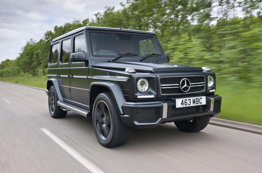 why the mercedes g class outlived the land rover defender autocar. Black Bedroom Furniture Sets. Home Design Ideas