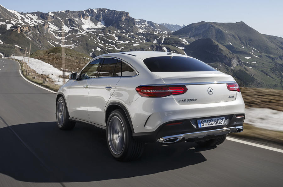 Mercedes-Benz GLE Coupé rear
