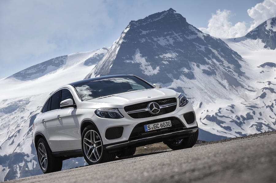 3.5 star Mercedes-Benz GLE Coupé