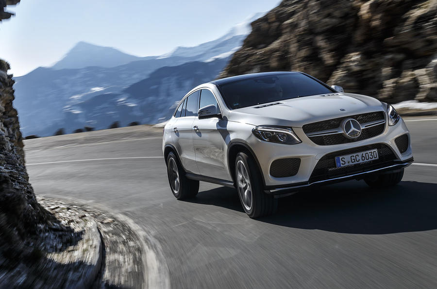 Mercedes-Benz GLE Coupé cornering