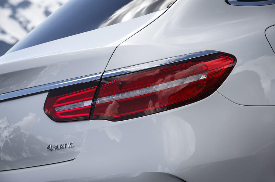 Mercedes-Benz GLE Coupé rear lights