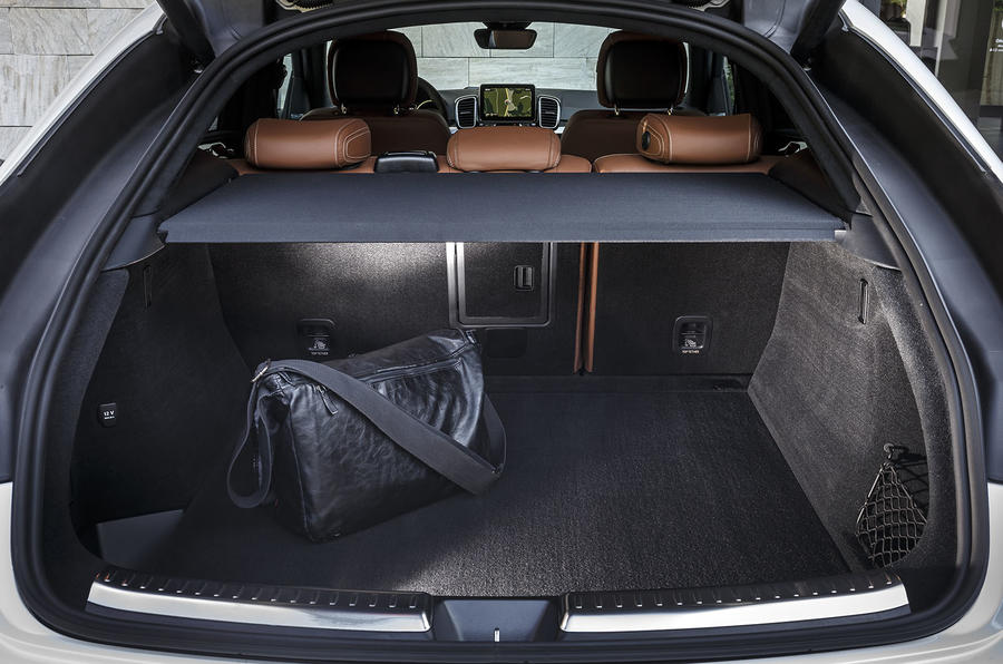 Mercedes-Benz GLE Coupé boot space