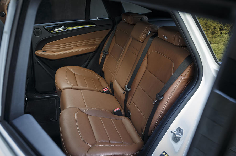 Mercedes-Benz GLE Coupé rear seats