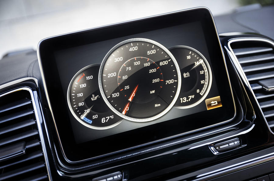 Mercedes-Benz GLE Coupé torque counter