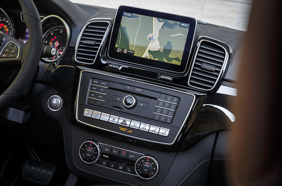 Mercedes-Benz GLE Coupé centre console