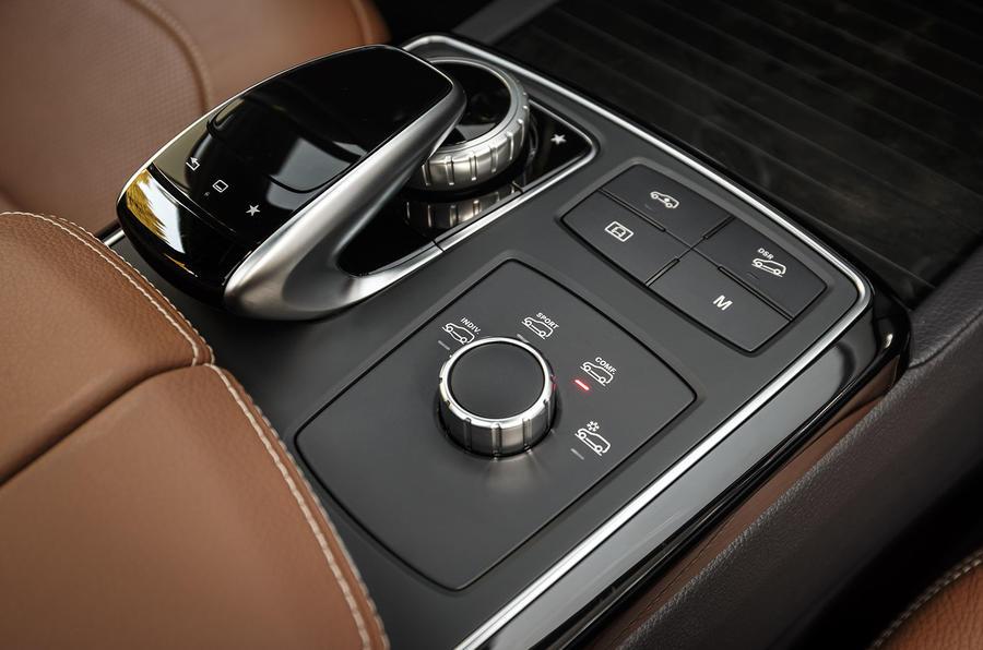 Mercedes-Benz GLE infotainment controller