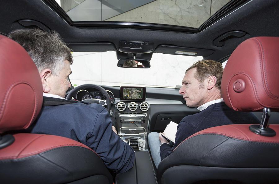Mercedes-Benz GLC Coupé ride
