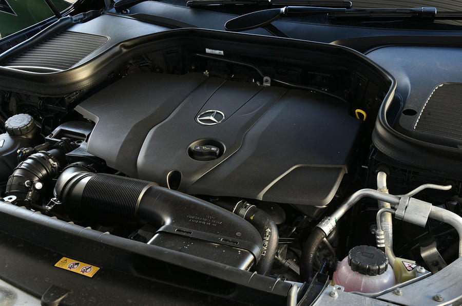2.0-litre Mercedes-Benz GLC diesel engine