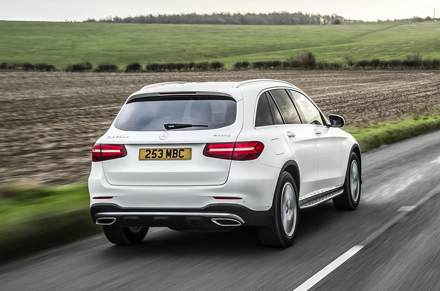 Our first opportunity to get behind the wheel of Mercedes' new GLC SUV ... Mercedes Glk