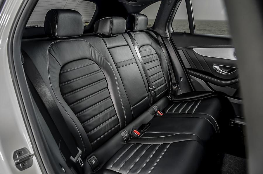 Mercedes-Benz GLC 250 d rear seats