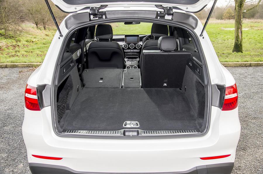 Mercedes-Benz GLC 250 d boot space