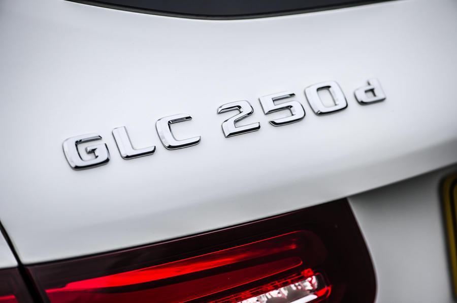Mercedes-Benz GLC 250 d badging