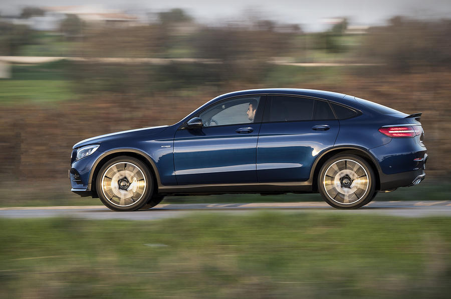 2016 mercedes amg glc 43 coupe review review autocar. Black Bedroom Furniture Sets. Home Design Ideas