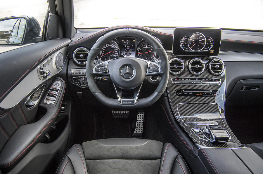 2016 mercedes amg glc 43 coupe review review autocar. Black Bedroom Furniture Sets. Home Design Ideas