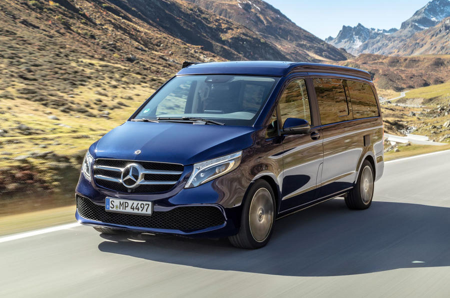 Mercedes Marco Polo >> Mercedes Benz V Class 300d Marco Polo 2019 Review Review Autocar