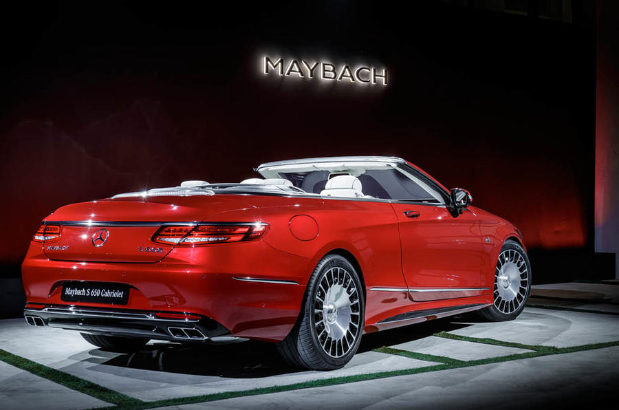 Mercedes-Maybach S650 Cabriolet unveiled at LA motor show ...
