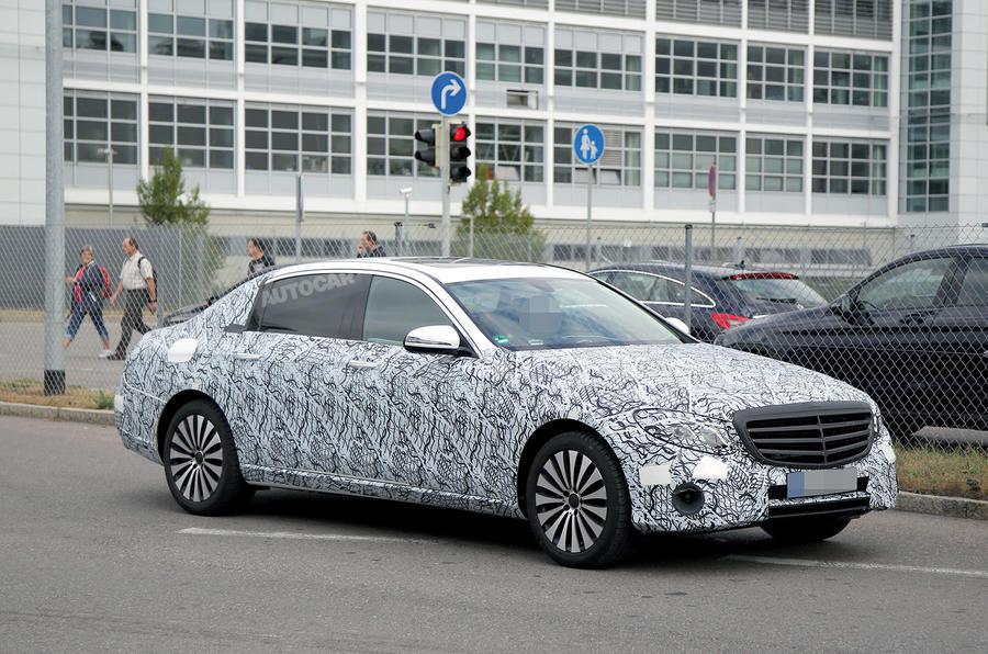 Next MercedesBenz EClass to get luxury Maybach version  Autocar