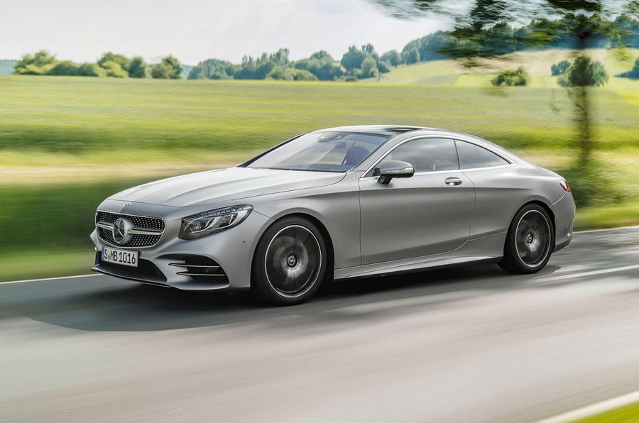 Revised Mercedes-Benz S-Class Coupé and Cabriolet get new V8 and tweaked styling