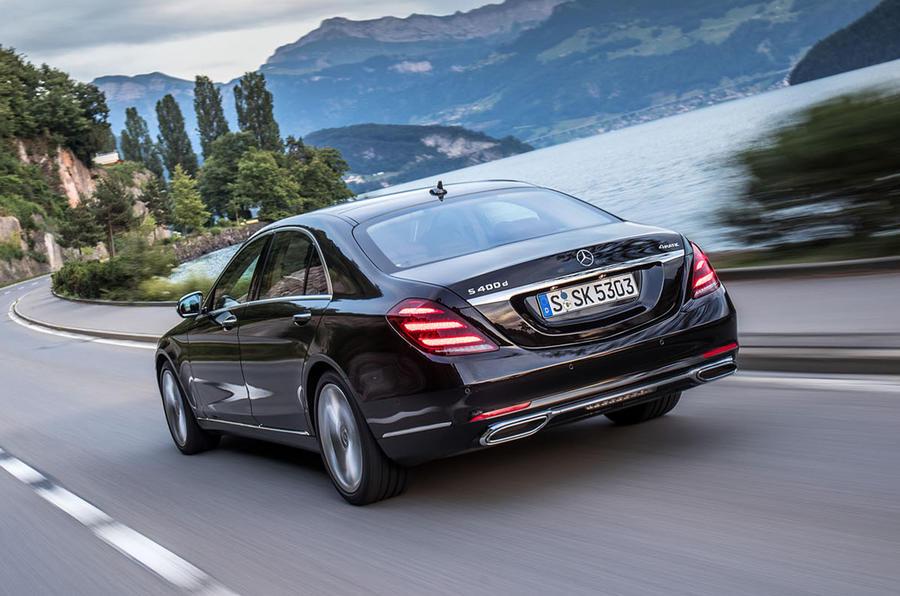Mercedes benz s class s400d 4matic review autocar for Mercedes benz s class review