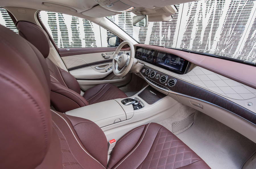 Mercedes-Benz S400d 4Matic interior